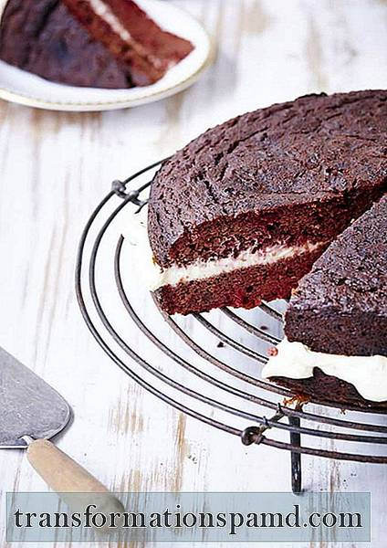 Gâteau Velours Rouge Sans Gluten Au Chocolat + Betteraves