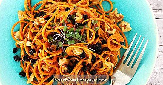 A Fall Zoodle Upgrade: Curried Sweet Potato Noodles