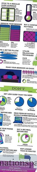 Dos And Don'ts Of Sleep (Infographic)
