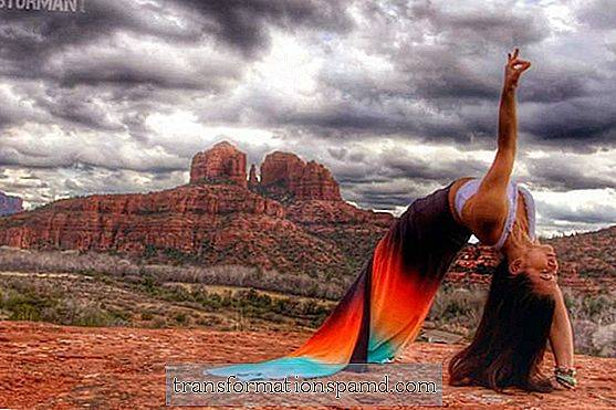 Big Rocks & Big Skies: Yoga In Sedona, Arizona (vakre bilder)